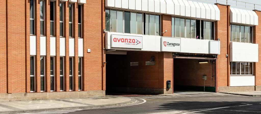 Avanza Zaragoza. Cocheras